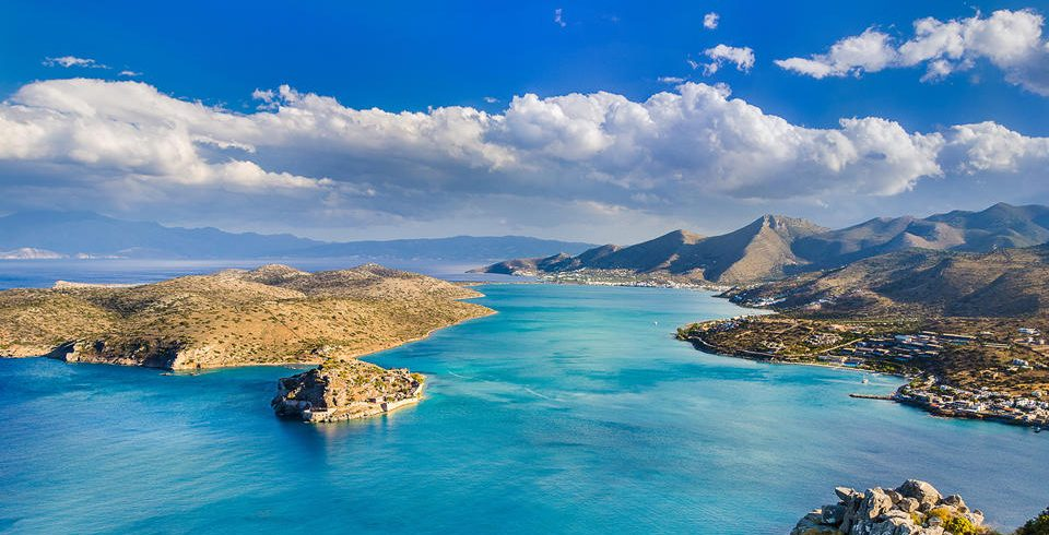 Elounda Spinalonga in Crete