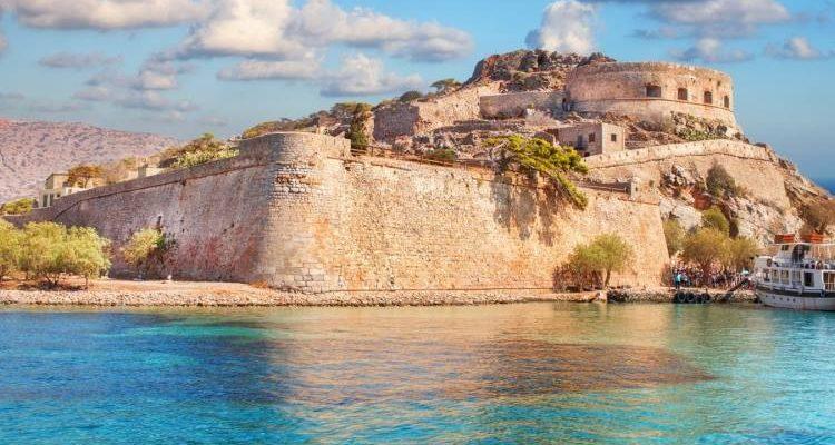 Spinalonga Island - Agios Nikolaos in East Crete