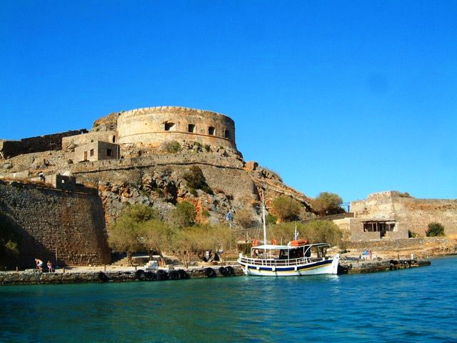 Spinalonga in East Crete