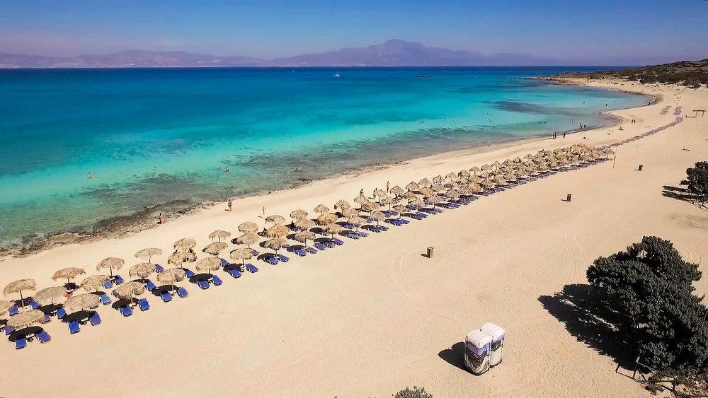 Chrissi Island in East Crete