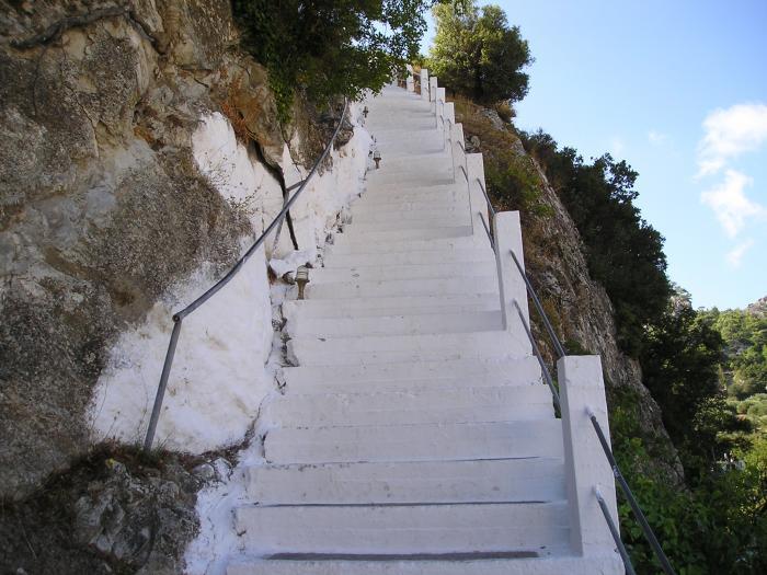 Kalamafka Village in East Crete