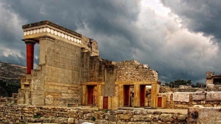 Knossos Minoan Palace in Crete