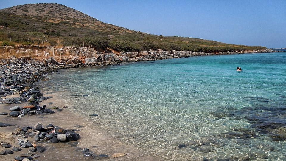 Kolokitha Beach East Crete