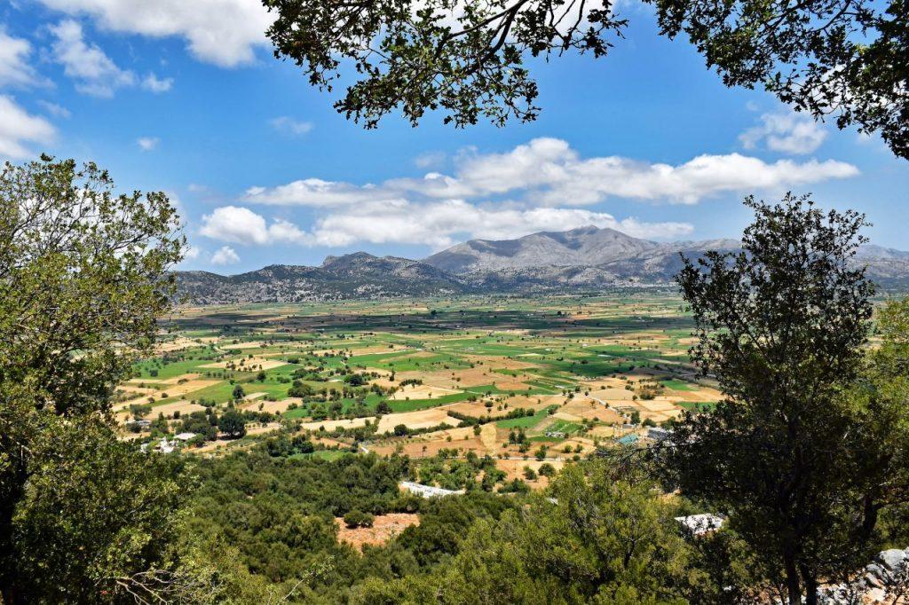 Lasithi Plateau in East Crete