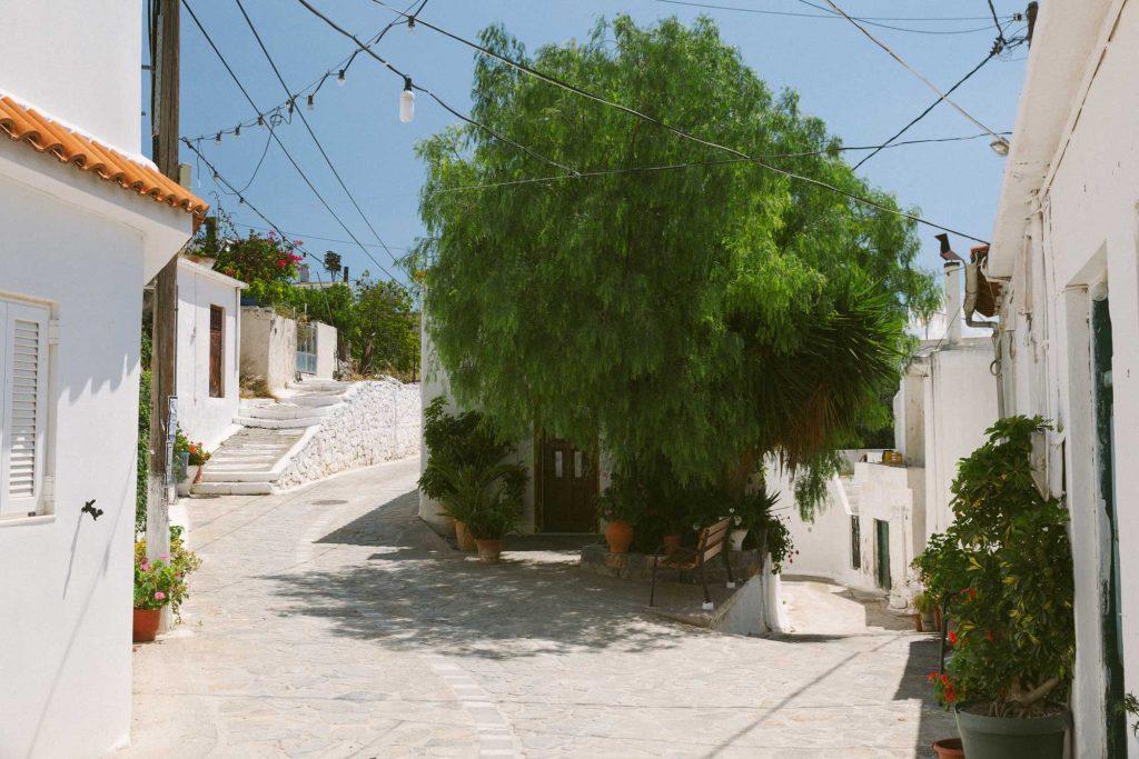 Prina Village in East Crete