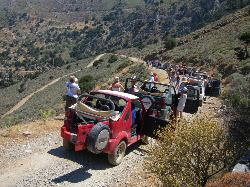 Jeep Safari in East Crete