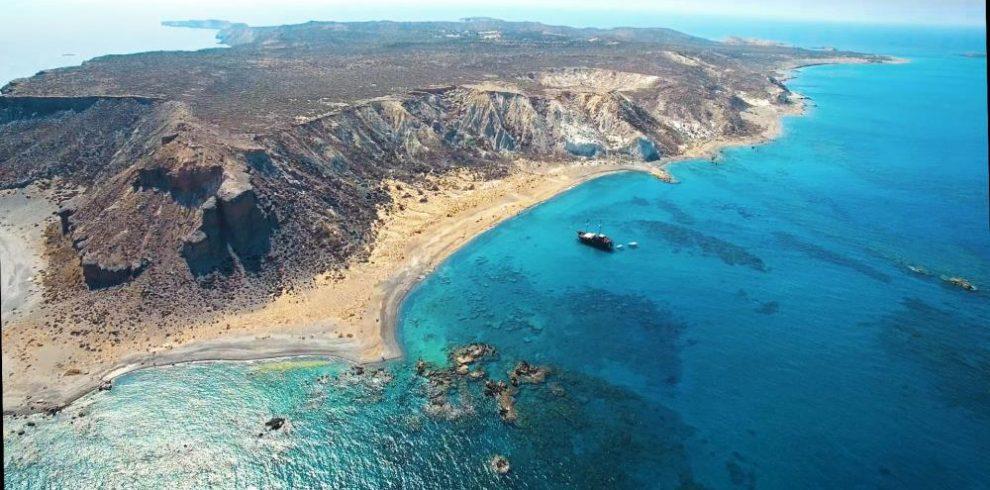 Koufonisi Island in Makrigialos Crete