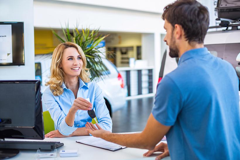 car rental hotel delivery service