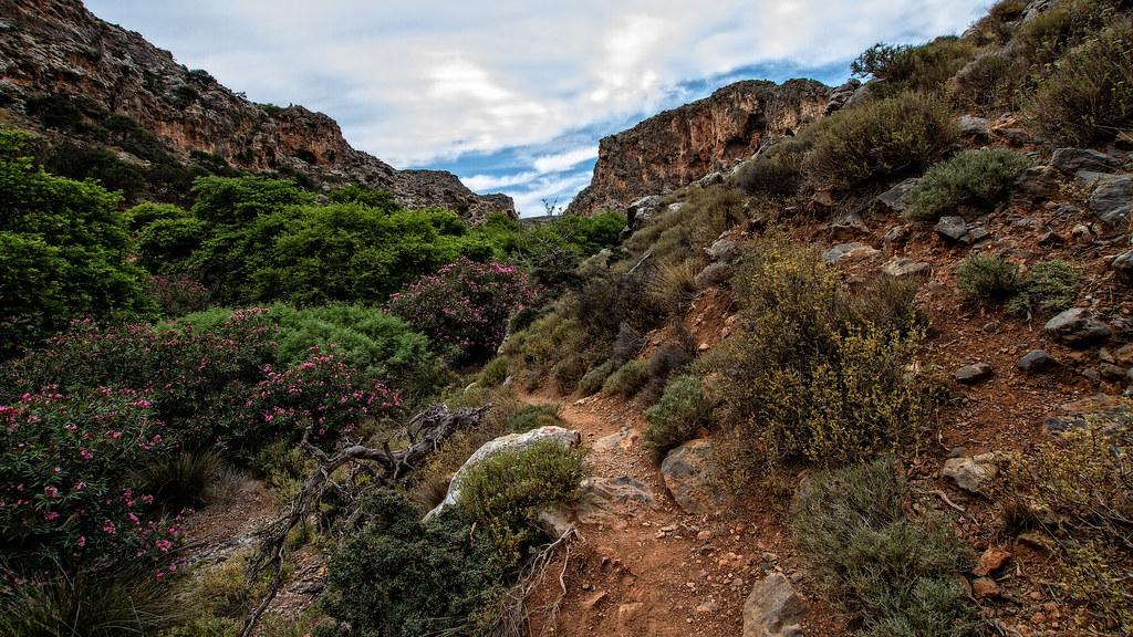 Gorge of the dead in Kato Zakros