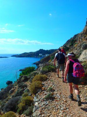 Hiking in East Crete