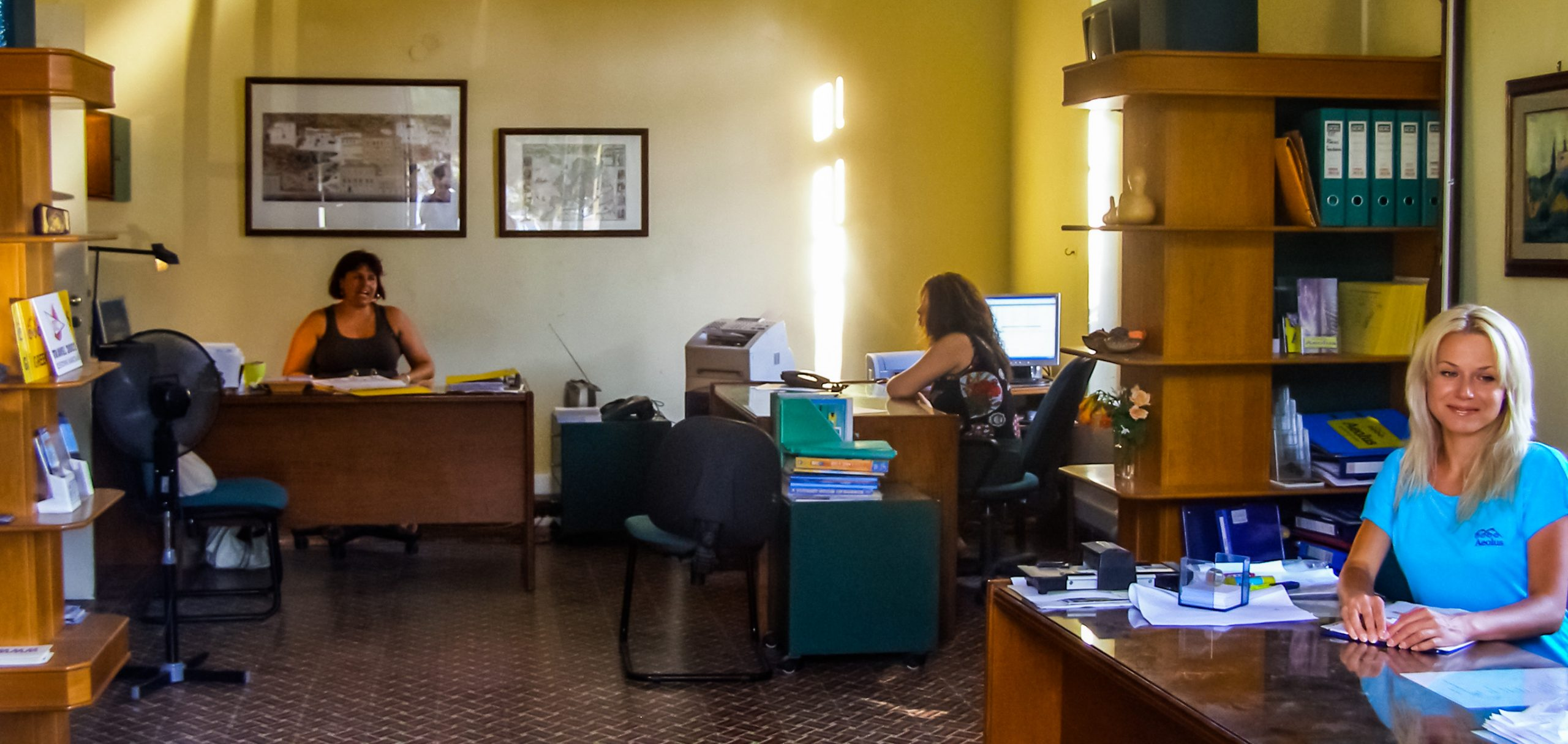 South Crete Tours - Office Welcome Room