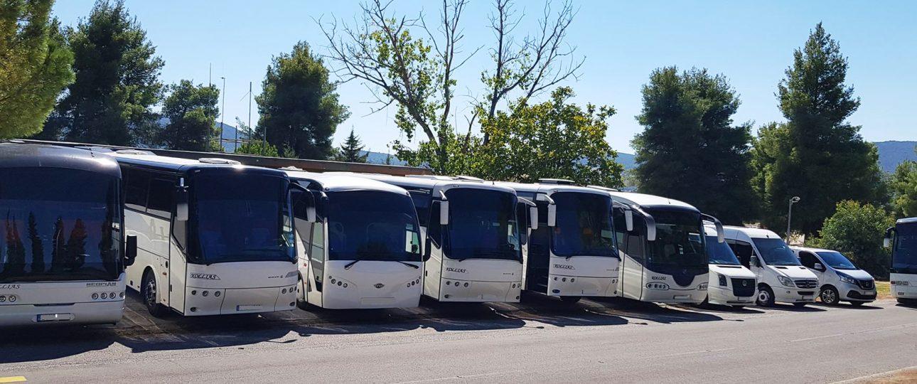 Transfers in Crete - Bus Fleet