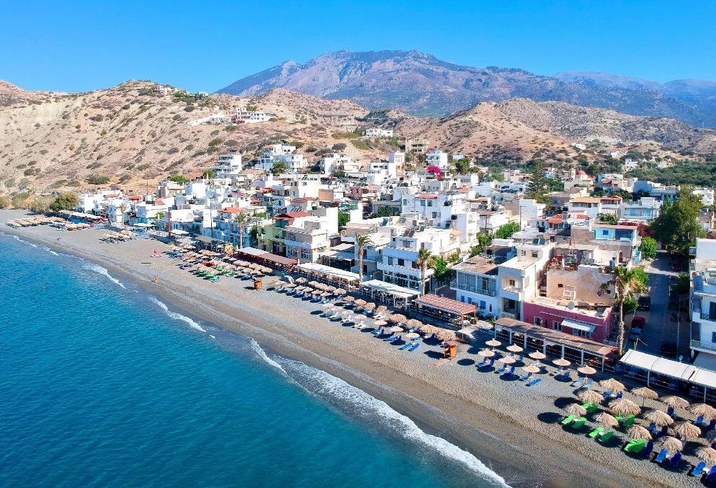 Myrtos Crete